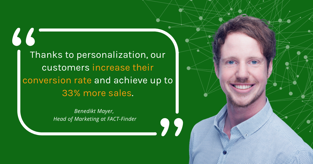 Personalization with FACT-Finder