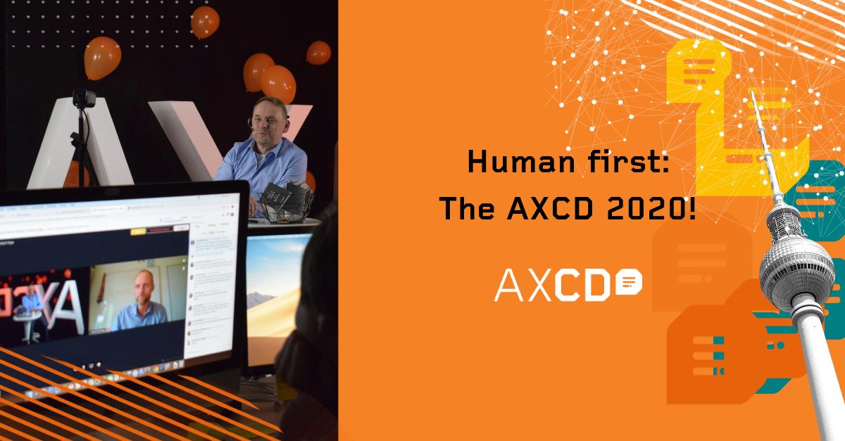 AXCD 2020 human first keynote