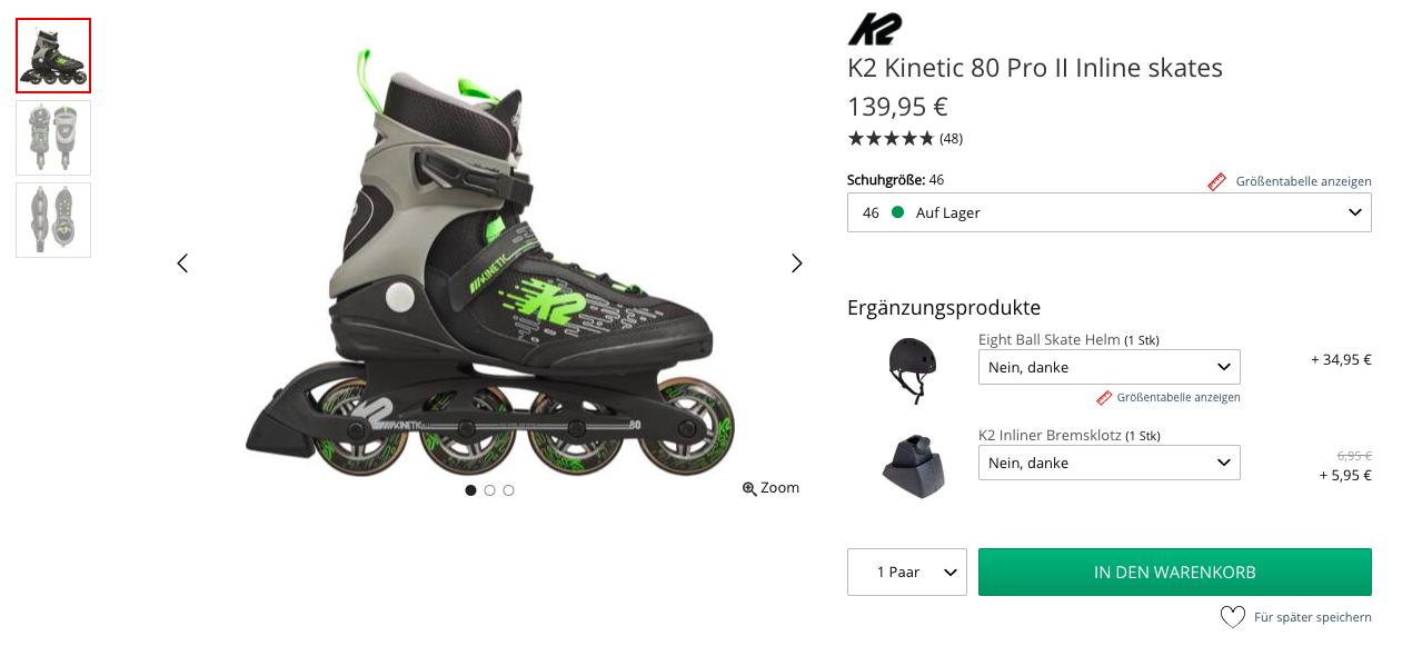 Skatepro product description