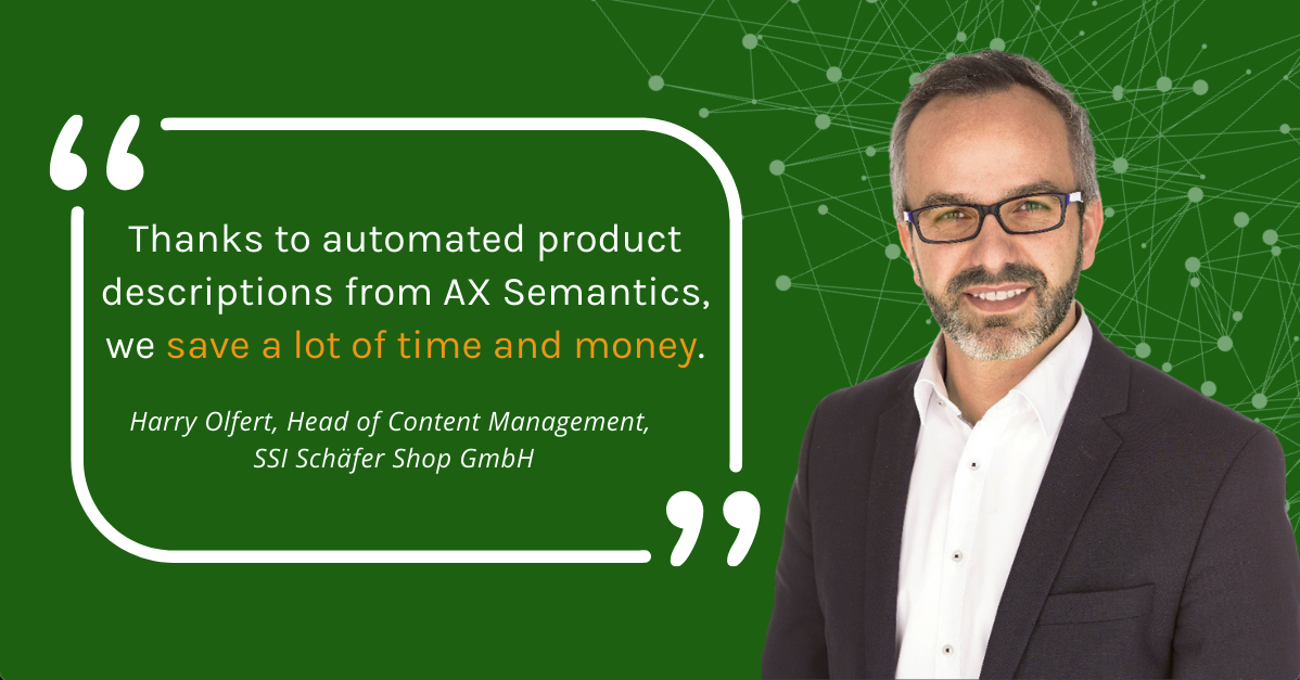 Automated Product Descriptions: More Conversions, lower Costs, higher Productivity – an Experience Report from Schäfer Shop