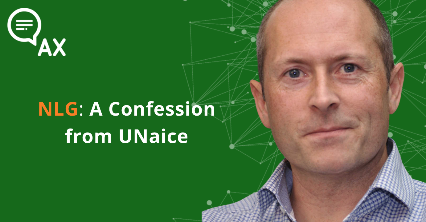 NLG: A Confession from Unaice