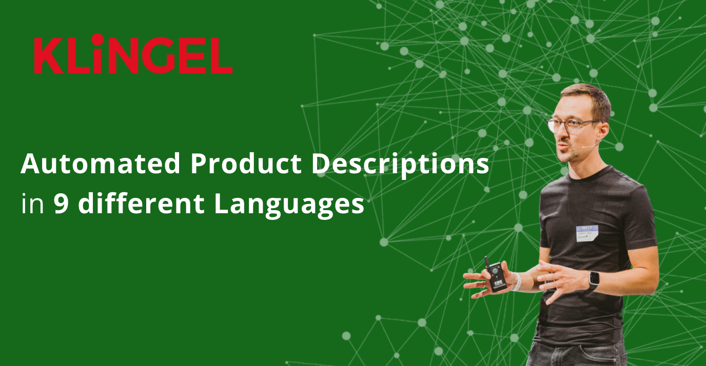 Internationalization in eCommerce: Automated Product Descriptions in 9 Languages