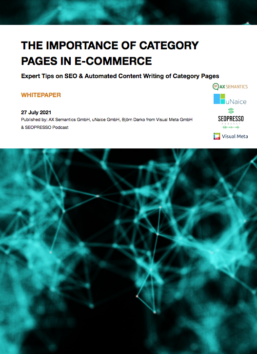The Importance of Category Pages in E-Commerce