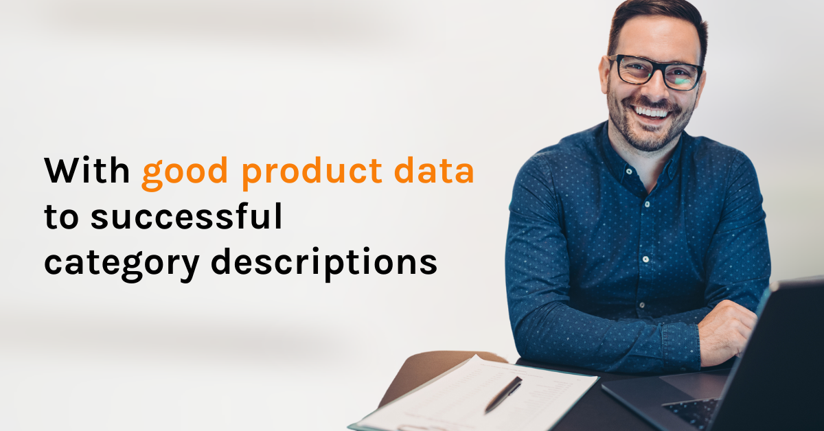 With good product data to successful category descriptions