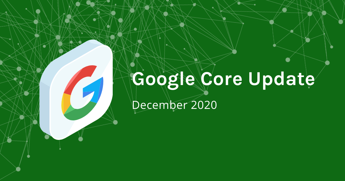 First results: Google Core Update in December