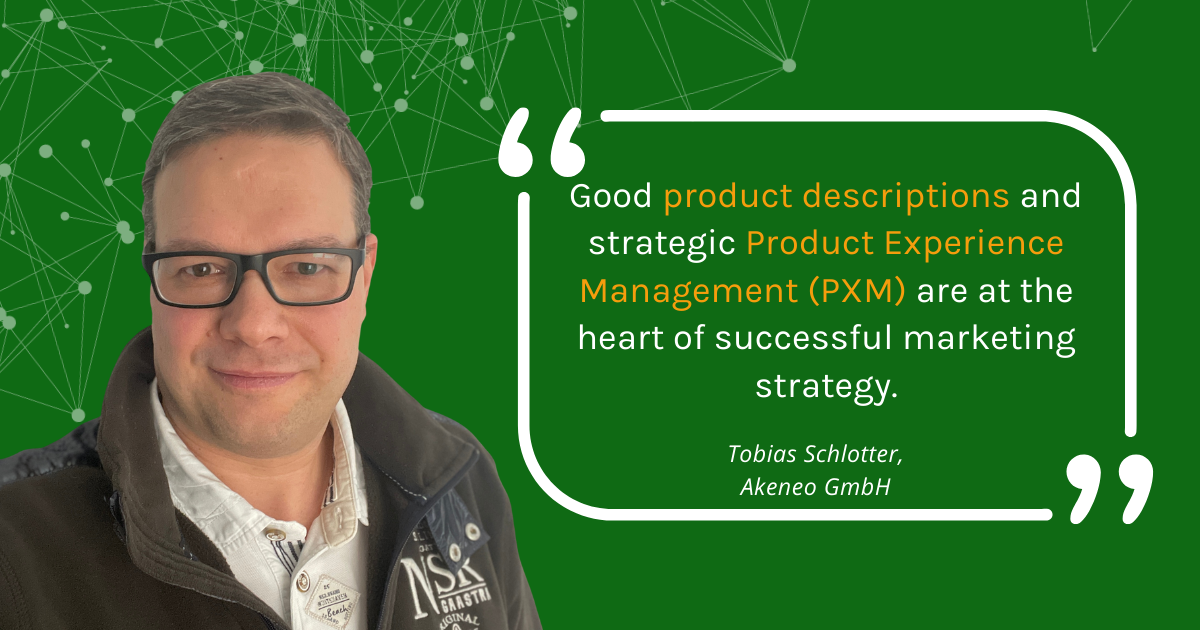 Interview about the importance of product experience management (PXM)