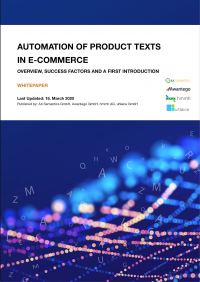 Whitepaper about the topic: Automation of product texts in e-commerce