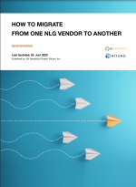 How to migrate from one NLG vendor to another - whitepaper