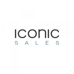 The logo of the company Iconic Sales.